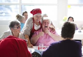 'Samen eten is iets universeels, het heeft een belangrijke plek in elke cultuur'
